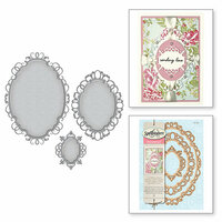 Spellbinders - Nestabilities Dies - Label 33 Decorative Elements