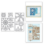 Spellbinders - Holiday Collection - Christmas - Shapeabilities Dies - Snowflake Snippets