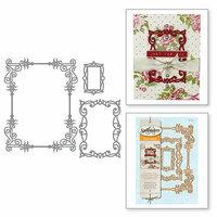Spellbinders - Card Creator - Die - A2 Swirls Frame