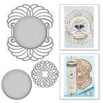 Spellbinders - Venise Lace Collection - Dies - Marcheline Plume