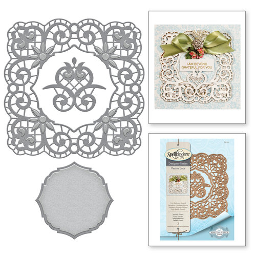 Spellbinders - Venise Lace Collection - Dies - Isabella Frame