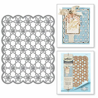 Spellbinders - Venise Lace Collection - Dies - Emmeline Treillage