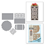 Spellbinders - Timeless Heart Collection - Shapeabilities Dies - Double Heart Gift Box