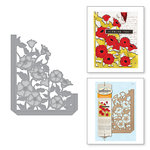 Spellbinders - Shapeabilities Die - Poppies Pocket Card A2