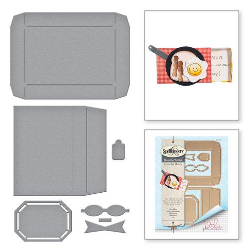 Spellbinders - Love Set Match Collection - Shapeabilities Dies - Match Box