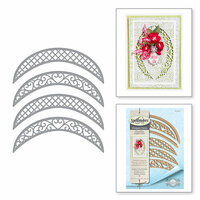 Spellbinders - Chantilly Paper Lace Collection - Shapeabilities Dies - Lunette Arched Borders