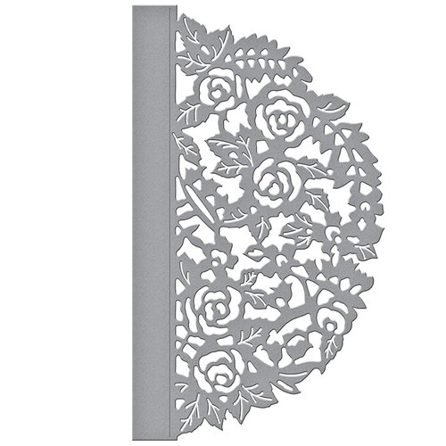 Spellbinders - Flower Garden Collection - Shapeabilities Dies - Floral Gatefold