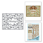 Spellbinders - Thoughtful Expressions Collection - Etched Dies - Blessings Vine Frame