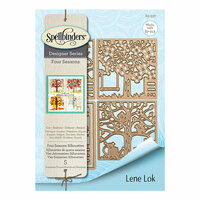 Spellbinders - Four Seasons Collection - Etched Dies - Four Seasons Silhouettes