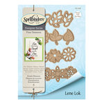 Spellbinders - Four Seasons Collection - Etched Dies - Wreath Elements