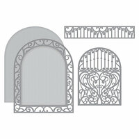 Spellbinders - Elegant 3D Cards Collection - Etched Dies - Ornamental Arch