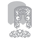 Spellbinders - Elegant 3D Cards Collection - Etched Dies - Filigree Veil