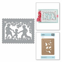 Spellbinders - Little Loves Collection - Etched Dies - Little Loves A2 Card Front