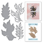 Spellbinders - Good Vibes Only Collection - Etched Dies - Leaves So Very Gorgeous