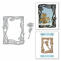 Spellbinders - On the Wings of Love Collection - Etched Dies - Swirl Frame