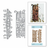 Spellbinders - On the Wings of Love Collection - Etched Dies - Love Dream Create