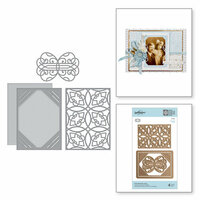 Spellbinders - Romancing the Swirl Collection - Shapeabilities Dies - Swirl Booklet Insert