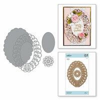 Spellbinders - Romancing the Swirl Collection - Shapeabilities Dies - Sweetheart Swirl