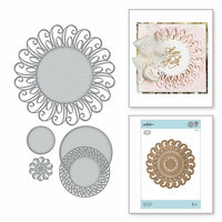 Spellbinders - Romancing the Swirl Collection - Shapeabilities Dies - Graceful Doily