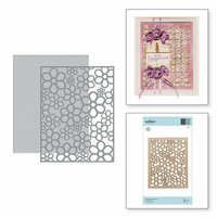 Spellbinders - Special Moments Collection - Shapeabilities Dies - Flower Background