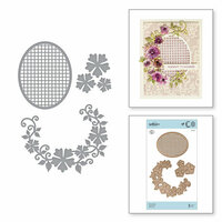 Spellbinders - Special Moments Collection - Shapeabilities Dies - Floral Oval
