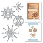 Spellbinders - A Charming Christmas Collection - Shapeabilities Dies - Yuletide Snowflakes