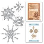 Spellbinders - A Charming Christmas Collection - Shapeabilities Dies - Yuletide Snowflakes