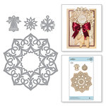 Spellbinders - A Charming Christmas Collection - Shapeabilities Dies - Snowflake Doily