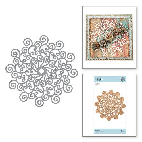 Spellbinders - Exquisite Splendor Collection - Shapeabilities Die - Swirly Doily