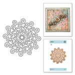 Spellbinders - Exquisite Splendor Collection - Shapeabilities Die - Swirly Doily