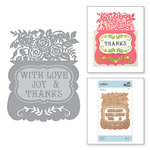 Spellbinders - Great, Big, Wonderful World Collection - Shapeabilities Die - With Love