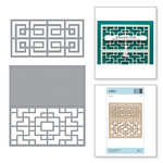 Spellbinders - Destination China Collection - Shapeabilities Die - Chinese Traditional Fence