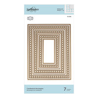 Spellbinders - Candlewick Classics Collection - Etched Dies - Rectangles
