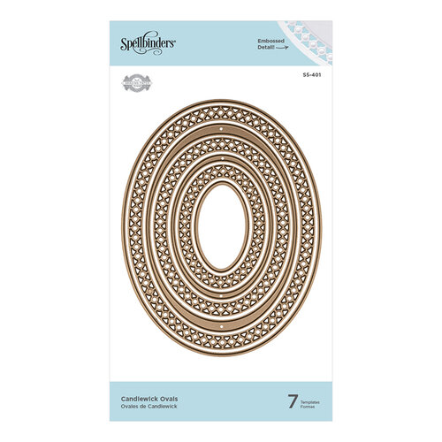 Spellbinders - Candlewick Classics Collection - Etched Dies - Ovals