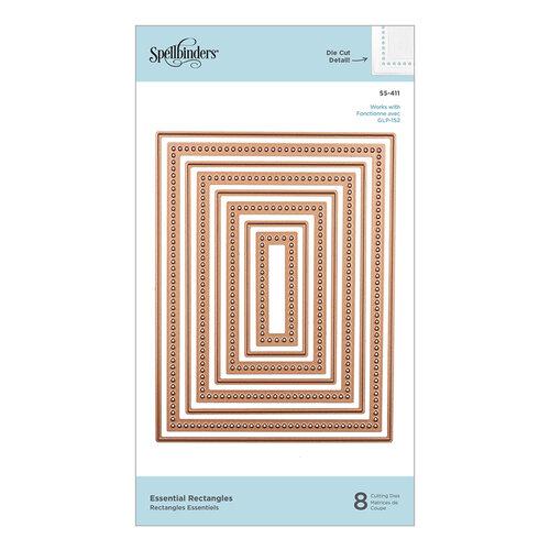 Spellbinders - Etched Dies - Essential Rectangles