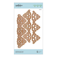 Spellbinders - Flourished Fretwork Collection - Etched Dies - Kaleidoscope Strip