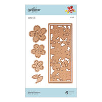 Spellbinders - Destination Japan Collection - Etched Dies - Sakura Blossoms