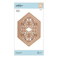 Spellbinders - Flourished Fretwork Collection - Etched Dies - Rosa Diamante