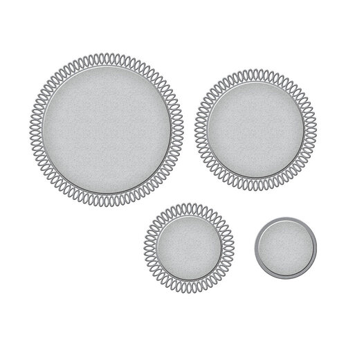 Spellbinders - Picot Petite Collection - Etched Dies - Circles