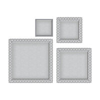 Spellbinders - Picot Petite Collection - Etched Dies - Squares