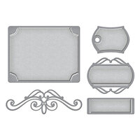Spellbinders - Make a Scene Collection - Etched Dies - Elegant Adornments