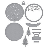 Spellbinders - Christmas Traditions Collection - Etched Dies - Through The Woods