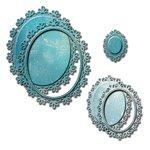 Spellbinders - Nestabilities Collection - Die - Oval Floral