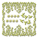 Spellbinders - Shapeabilities Collection - Die - Draping Vines Frame