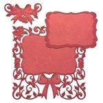 Spellbinders Holiday Decorative Holly Frame Nestabilities Die