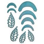 Spellbinders - Shapeabilities Collection - Die - Stack and Fan Flowers