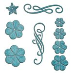 Spellbinders - Shapeabilities Collection - Die - Cinch and Go Flowers