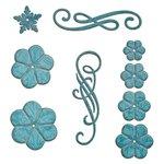 Spellbinders - Shapeabilities Collection - Die - Cinch and Go Flowers