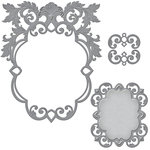 Spellbinders - Renaissance Collection - Nestabilities Die - Labels 51 Decorative Accents