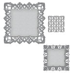 Spellbinders - Art Deco Collection - Nestabilities Die - Fairmont Decorative Accent
